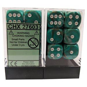 Marble: Oxi-Copper™ / White Dice Block™ 12D6