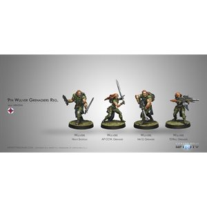 Infinity: Ariadna 9Th Wulver Genadiers Regiment