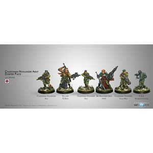 Infinity: Ariadna - Caledonian Highlander Army - Ariadna Sectorial Starter Pack (6) - RS