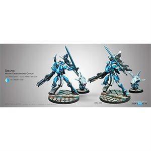 Infinity: PanOceania Seraphs Military Order Cavalry