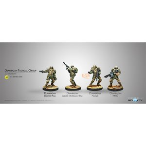 Infinity: Haqqislam Djanbazan Tactical Group
