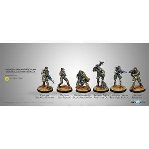 Infinity: Haqqislam - Hassassin Bahram - Sectorial Army Starter Pack (6) - RS