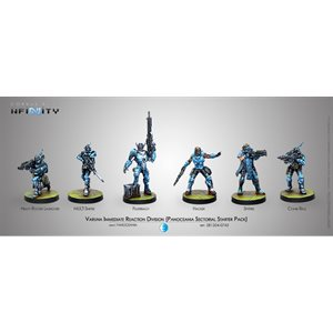 Infinity: PanOceania Varuna Immediate Reaction Division Starter Pack (6)