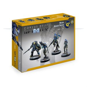 Infinity: O-12 Nyoka Assault Troops