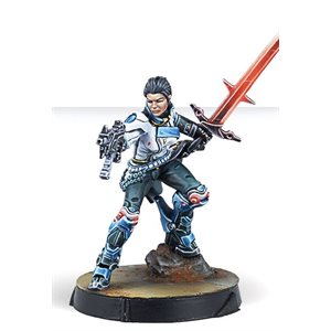 Infinity: CodeOne: O-12 Shona Carano, Aristeia! Swordmaster (Submachine Gun) ^ MAY 28 2021