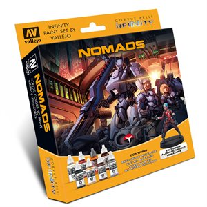 Model Color Set: Infinity Nomads Exclusive Miniature ^ Jun 28, 2019