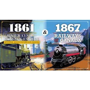 1861 Railways of Russia & 1867 Railways of Canada ^ MAY 2021