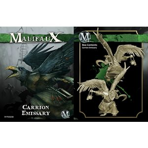 Malifaux 2nd Ed: Resurrectionists: Carrion Emissary (Updated to M3E)