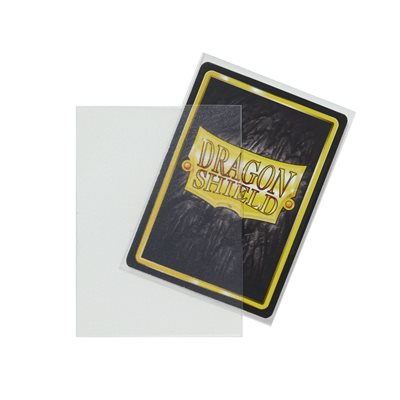 Sleeves: Dragon Shield Matte Clear NonGlare (100)