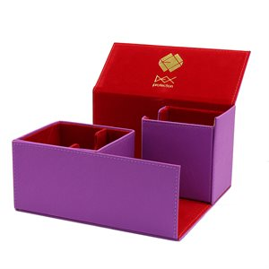 Deck Box: Creation Line Large 200Ct Purple