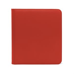 Binder: Dex Zipper 12-Pocket Red