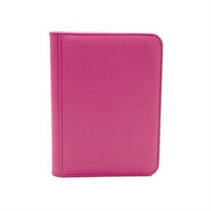 Binder: Dex Zipper 4-Pocket Pink
