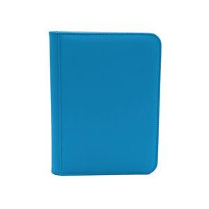 Binder: Dex Zipper 4-Pocket Blue