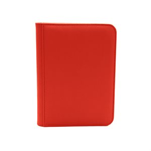 Binder: Dex Zipper 4-Pocket Red
