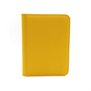 Binder: Dex Zipper 4-Pocket Yellow