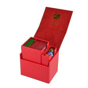 Deck Box: Proline Small 75ct Red