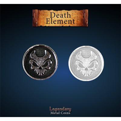 Legendary Metal Coins: Season 5: Death Element Set (12pc)