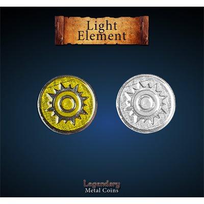 Legendary Metal Coins: Season 5: Light Element Set (12pc)