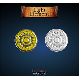Legendary Metal Coins: Season 5: Light Element Set (12pc)