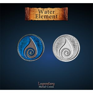 Legendary Metal Coins: Season 5: Water Element Set (12pc)
