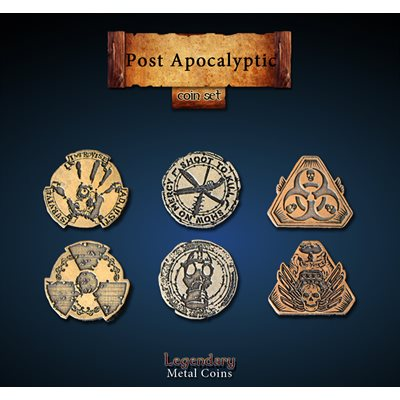 Post Apocalyptic Coin Set (24pc)
