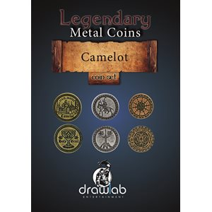 Legendary Metal Coins: Season 5: Camelot Coin Set (27pc)