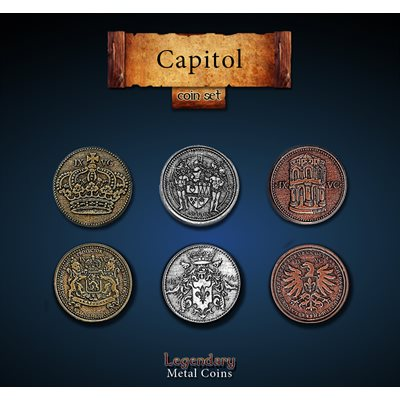 Capitol Coin Set (24pc)