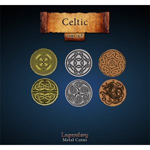 Legendary Metal Coins: Season 5: Celtic Coin Set (27pc)