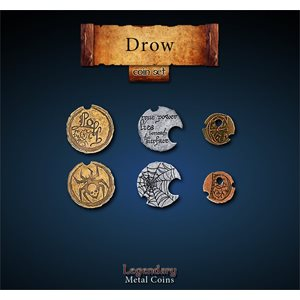 Drow Coin Set (24pc) ^ Q4 2019