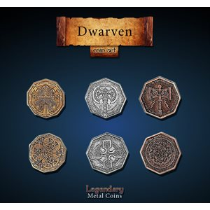 Dwarven Coin Set (24pc) ^ Q4 2019