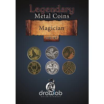 Legendary Metal Coins: Season 5: Magician Coin Set (27pc)