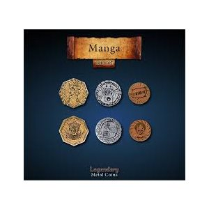 Manga Coin Set (24pc) ^ Q4 2019