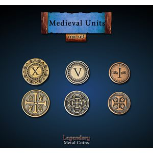 Medieval Units Coin Set (24pc) ^ Q4 2019
