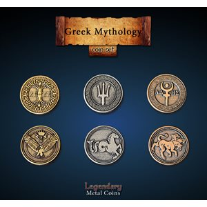 Greek Mythology Coin Set (24pc) ^ Q4 2019