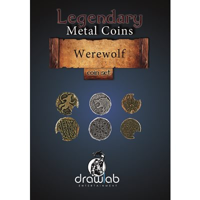 Legendary Metal Coins: Season 5: Werewolf Coin Set