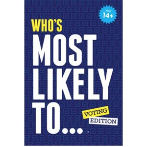 Who's Most Likely To… Voting Edition (No Amazon Sales)