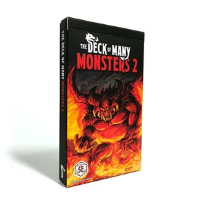 The Deck Of Many: Monsters 2 (No Amazon Sales)