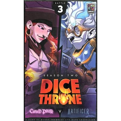 Dice Throne Season Two - Cursed Pirate vs Artificer