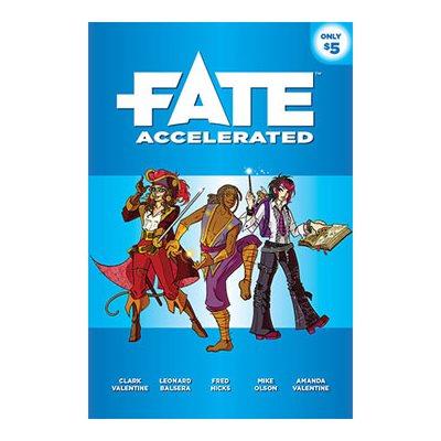 Fate Core: Fate Accelerated (BOOK)