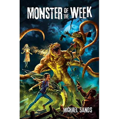 Monster Of The Week RPG (BOOK)