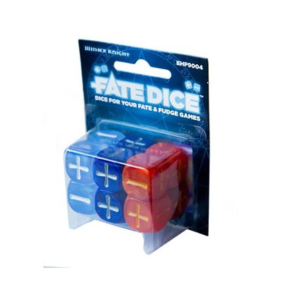 Fate Core Dice: Dresden Winter Knight