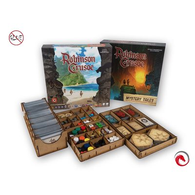 E-Raptor Insert Robinson Crusoe 2ed (with Mystery Tales Exp)