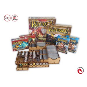 E-Raptor Insert Runebound 3rd ed (with 5 Expansions)