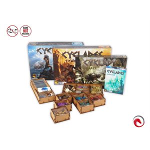 E-Raptor Insert Cyclades (with Hades / Titans / Monuments Exp)