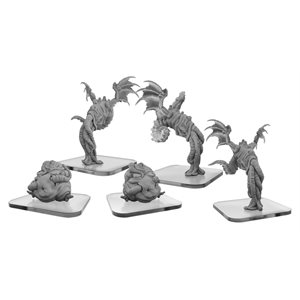Monsterpocalypse: Squix & Meat Slave - Lords of Cthul Unit (Resin)