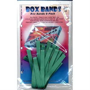 "Board Game Box Rubber Bands 8"" (6 pk)"