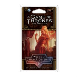 Game of Thrones LCG 2E: 2016 World Championship Deck