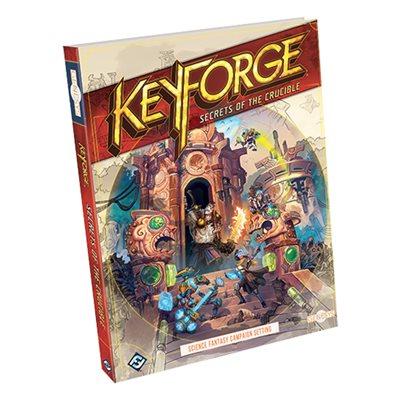 Genesys: Keyforge: Secrets of the Crucible (BOOK)