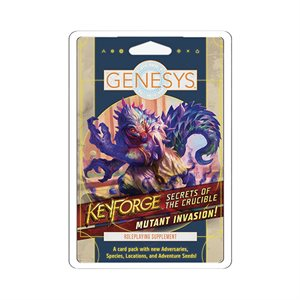Genesys: Keyforge: Secrets of the Crucible: Mutant Invasion ^ SEP 11 2020