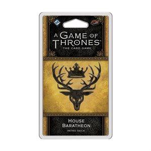 Game of Thrones: LCG 2nd Ed: House Baratheon Intro Deck
